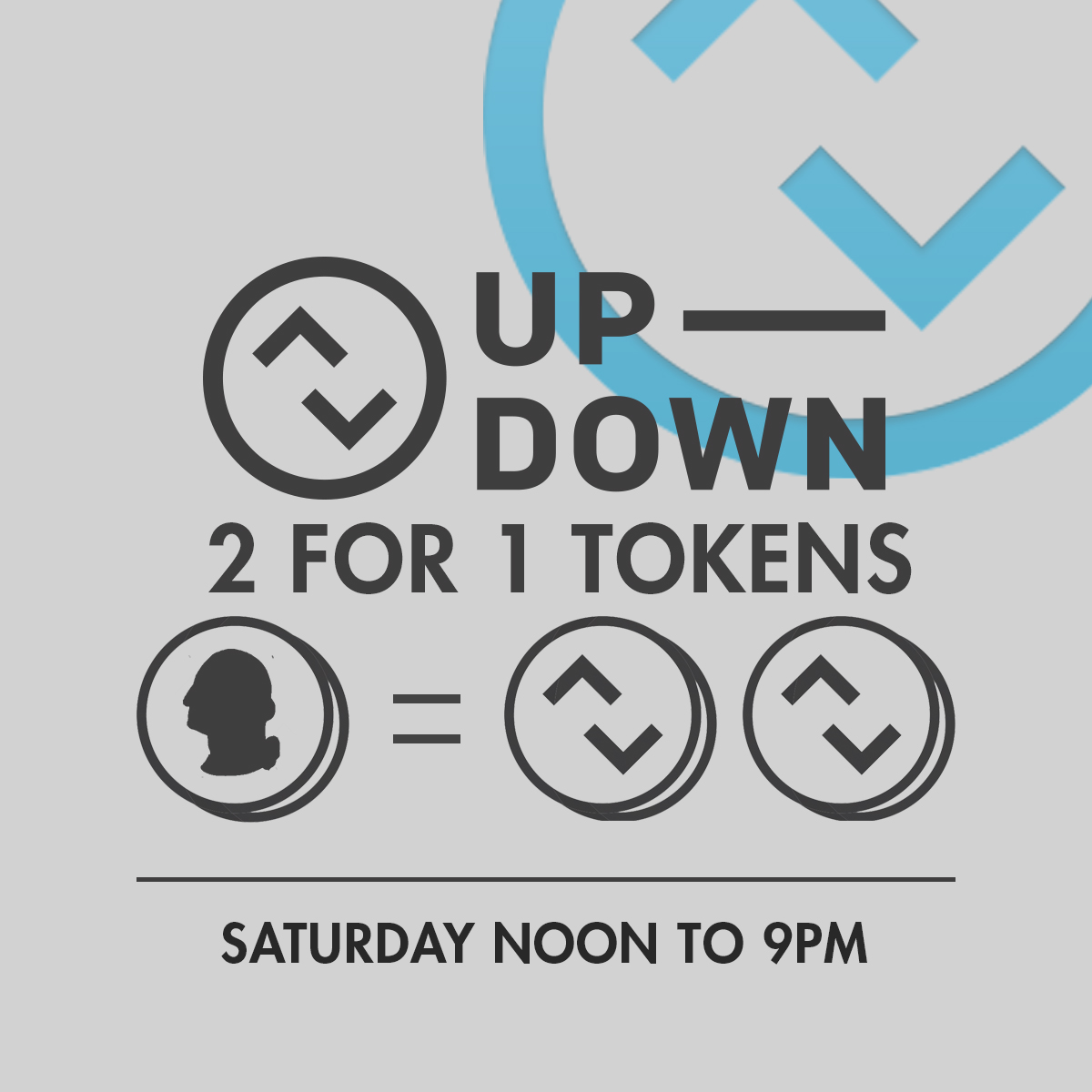 2 for 1 Tokens Until @ Up-Down KC |  |  |
